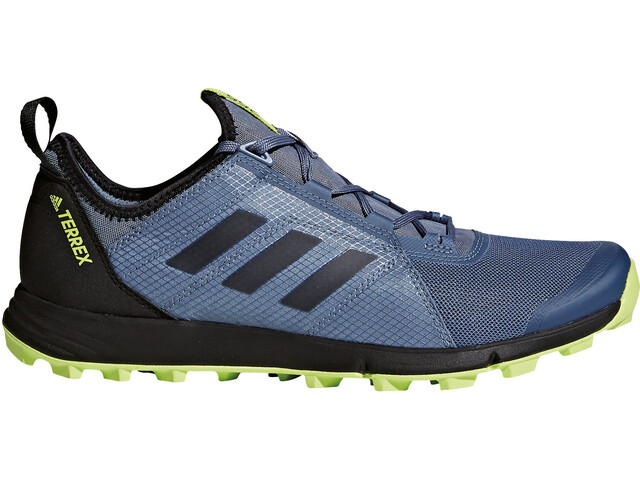 adidas TERREX Agravic Speed Shoes Men Raw Steel/Core Black/Solar Slime